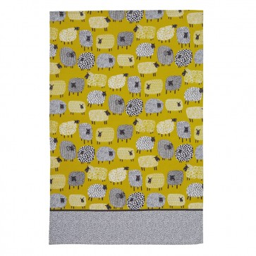 Dotty Sheep Cotton Tea Towel Ulster Weavers