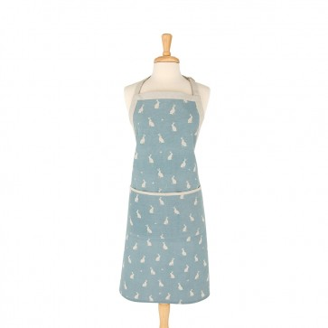 Rushbrookes Stargazing Hare 100% Cotton Apron