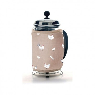 Dexam Pecking Order Cafetiere Cosy - Stone