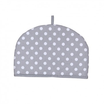 Dexam Rushbrookes Dove Grey Flamenco 2 Cup Tea Cosy