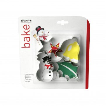 Snowman christmas cookie cutter set