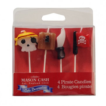 Mason Cash 4 Pirate Candles