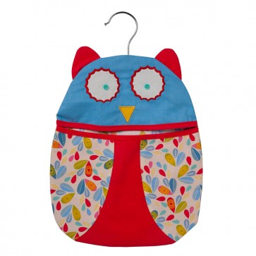 Owl Decorative Peg Bag by Ulster Weavers