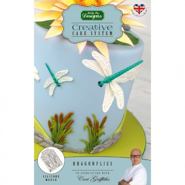 Dragonflies Katy Sue Designs Silicone Mould for Cake Decorating Cupcakes Sugarcraft and Candies