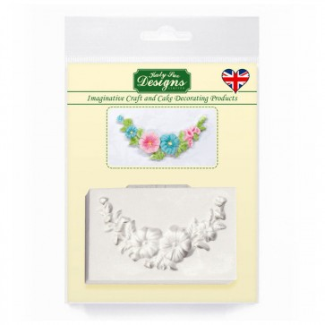 Floral Swag Katy Sue Designs Silicone Mould for Cake Decorating Cupcakes Sugarcraft and Candies