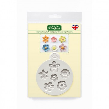 Flowers - Katy Sue Designs Silicone Mould