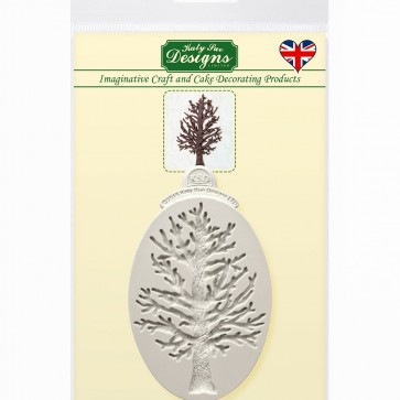 Little Tree Silhouette Silicone Mould Katy Sue