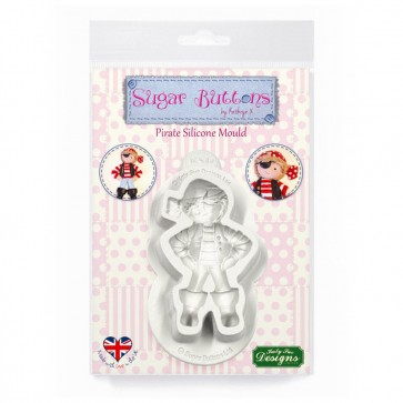 Pirate Sugar Buttons Character Mould