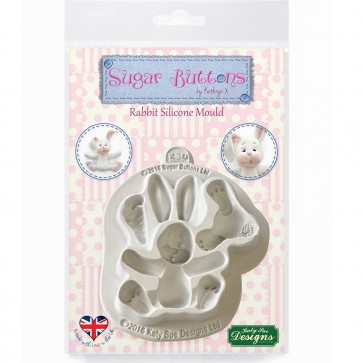 Katy Sue Designs Sugar Buttons Rabbit Mould