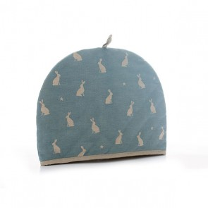 Rushbrookes Stargazing Hare Blue Teacosy - 6 Cup