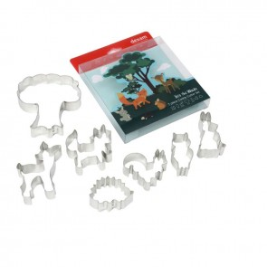Dexam Cookie Cutter Set - Into the Woods, 7 piece