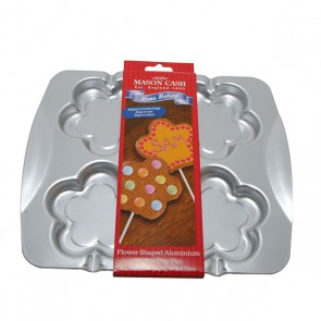 Flower Aluminium  Cookie Pop Tin