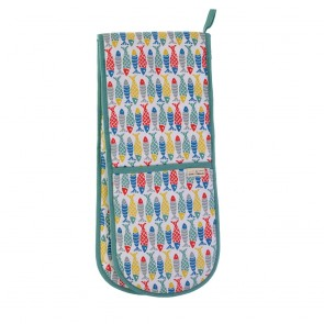 Ulster Weavers Seasalt Schooling Fish Double Oven Glove