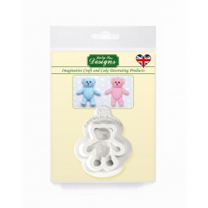 Baby Teddy Bear Katy Sue Designs Silicone Mould
