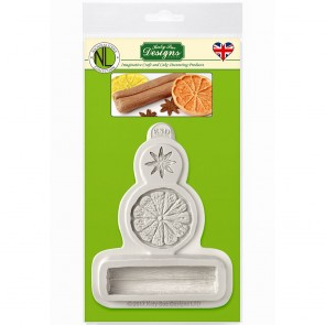 Winter Spices Katy Sue Designs Silicone Mould for Cake Decorating Cupcakes Sugarcraft and Candies